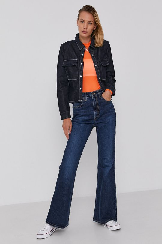 Calvin Klein Jeans - Halenka oranžová