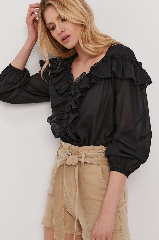 чорний Liu Jo - Бавовняна блузка