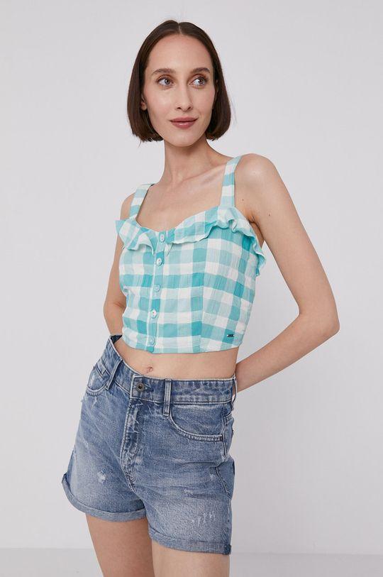 jasny turkusowy Pepe Jeans - Bluzka VALENTINA Damski