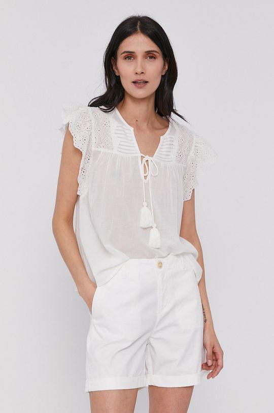 alb Pepe Jeans - Bluza Stella De femei