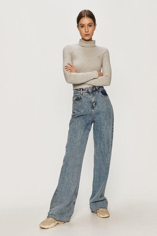 Tally Weijl - Tričko s dlouhým rukávem šedá