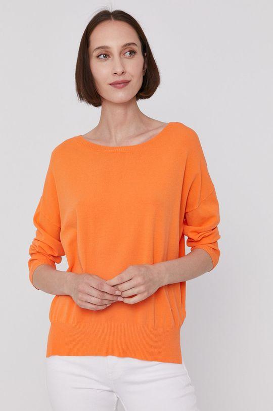 pomarańczowy Mos Mosh - Sweter Damski