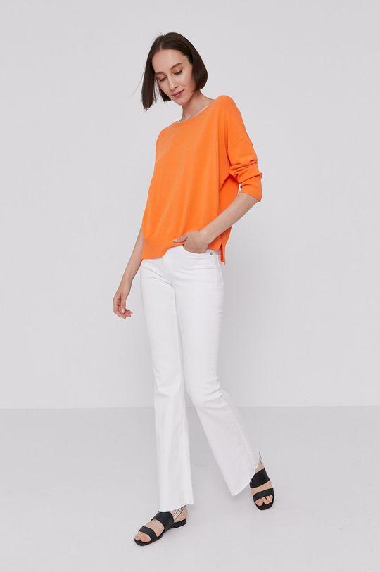 Mos Mosh - Sweter pomarańczowy