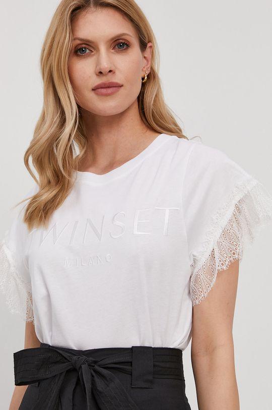 biały Twinset - T-shirt