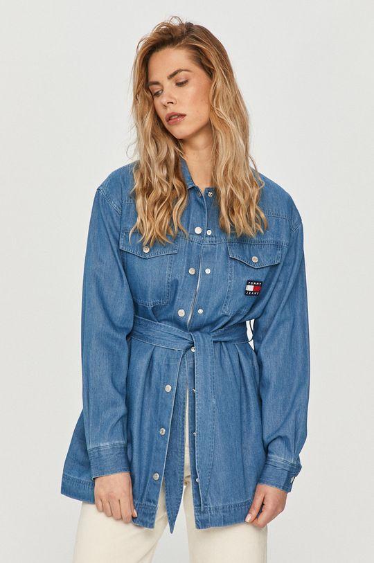 modrá Tommy Jeans - Šaty Dámský
