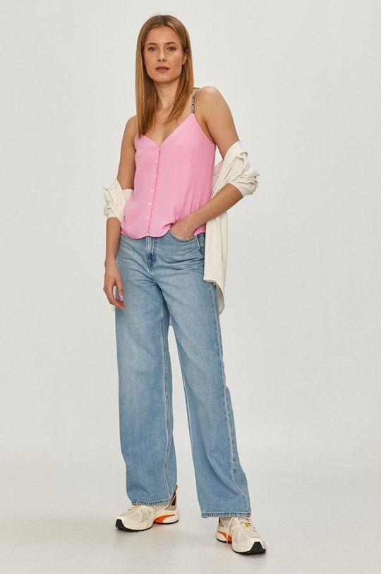 Tommy Jeans - Bluzka orchidea
