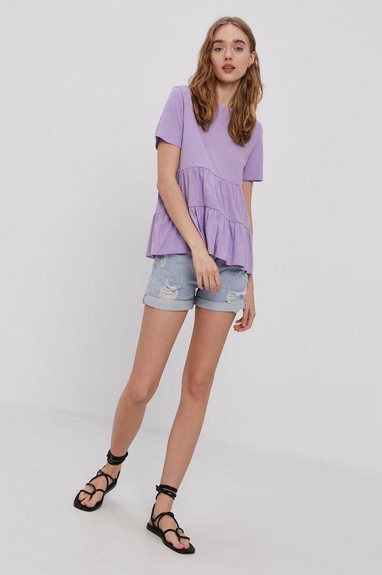 Jacqueline de Yong - Tricou violet