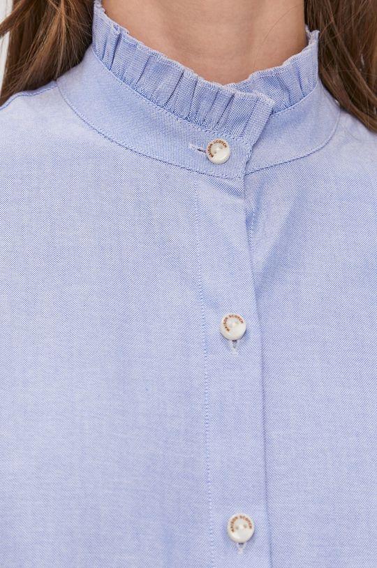 Scotch & Soda - Koszula bawełniana niebieski