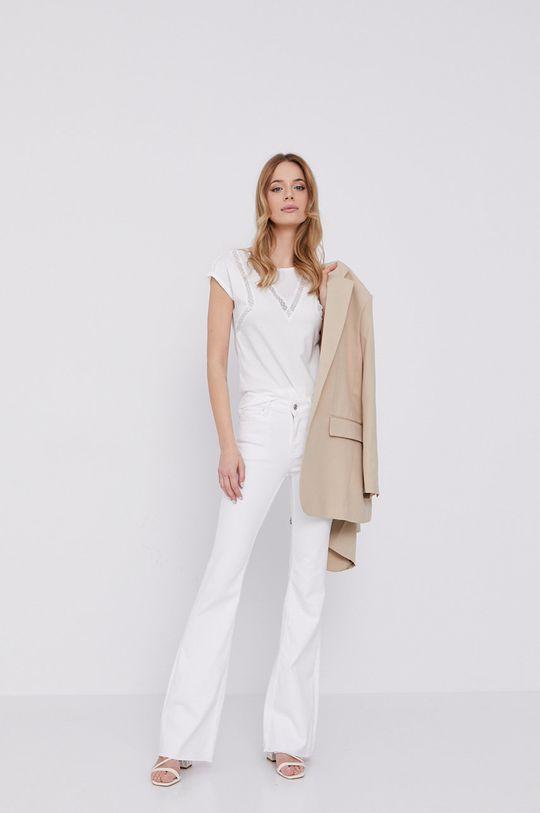 Morgan - T-shirt biały