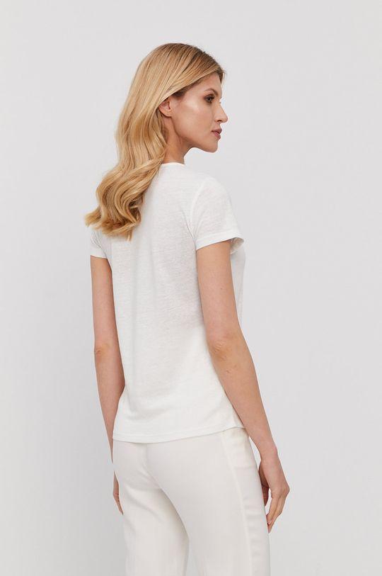 Morgan - T-shirt 55 % Len, 45 % Poliester