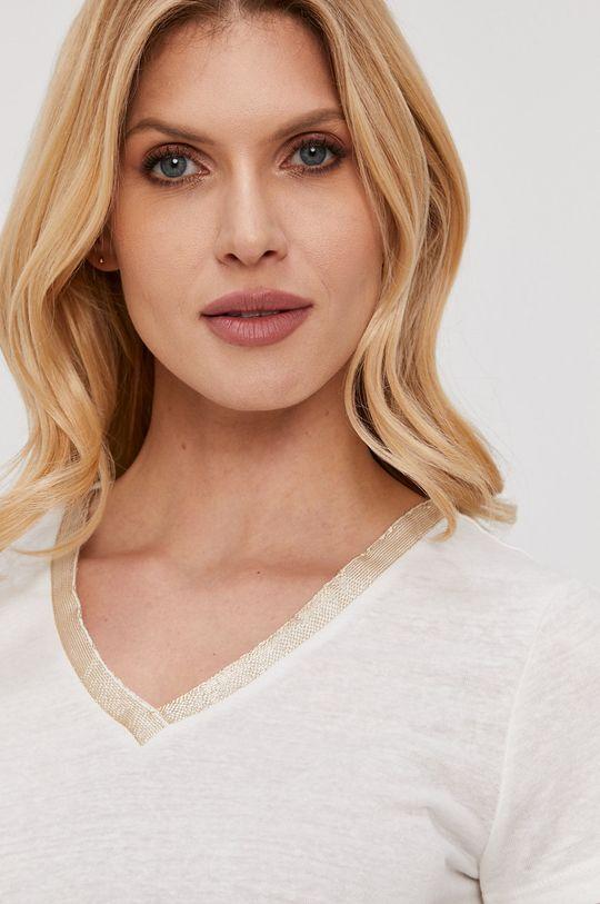 biały Morgan - T-shirt