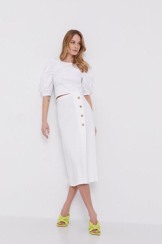 Bardot - Bluzka bawełniana biały