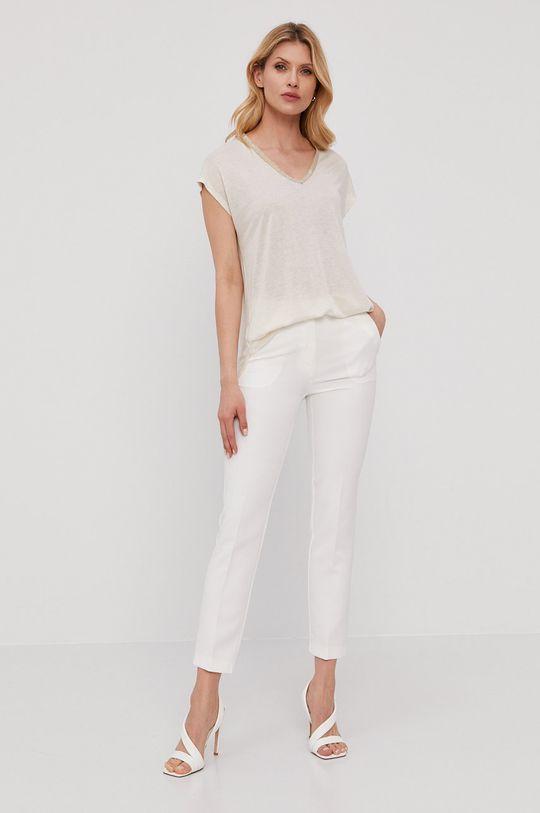 NISSA - T-shirt biały