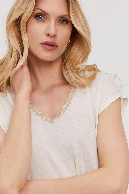 biały NISSA - T-shirt