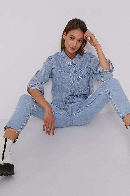 modrá Calvin Klein Jeans - Košile Dámský