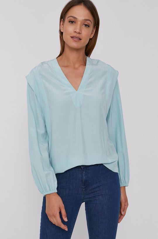 Sisley - Bluzka jasny turkusowy