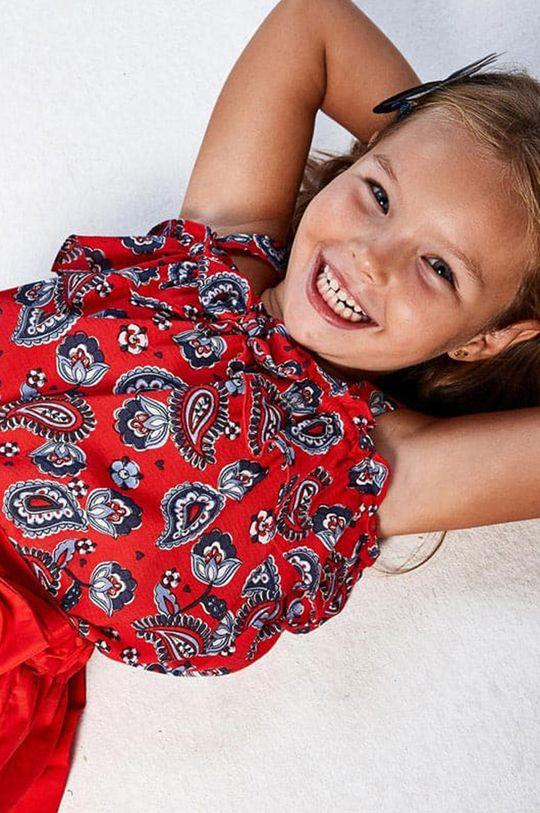 Mayoral - Bluzka dziecięca czerwony