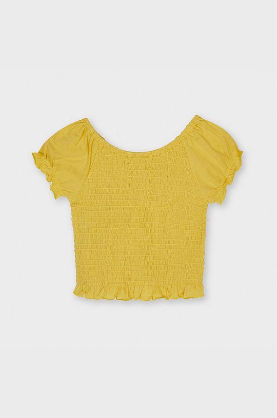 jasny pomarańczowy Mayoral - Bluzka dziecięca Dziewczęcy