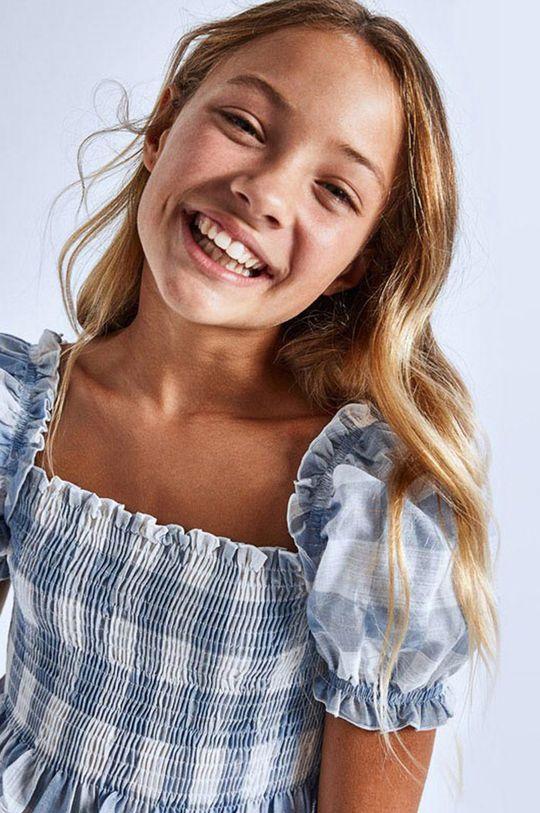 jasny niebieski Mayoral - Bluzka dziecięca Dziewczęcy