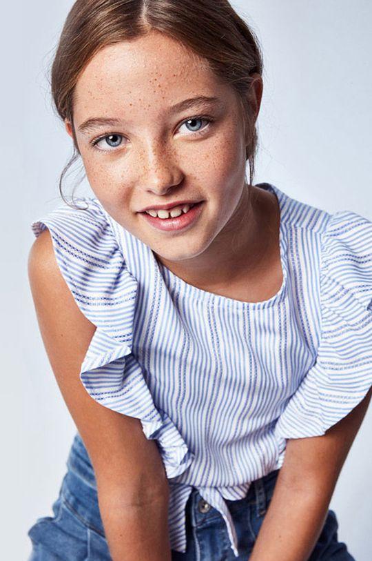 Mayoral - Bluzka dziecięca niebieski
