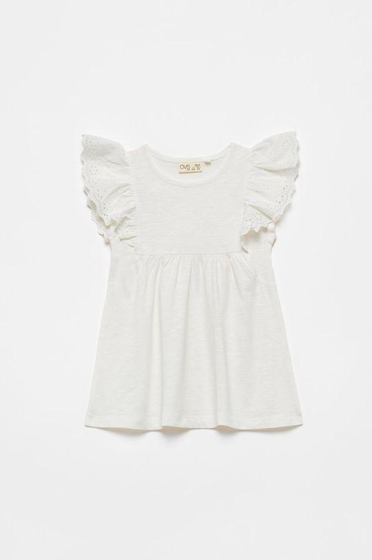 biały OVS - Bluzka dziecięca Dziewczęcy