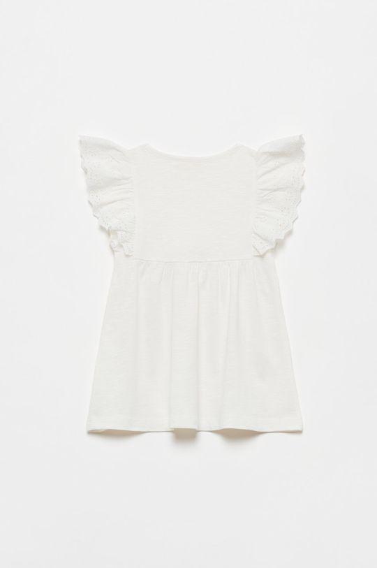 OVS - Bluzka dziecięca biały