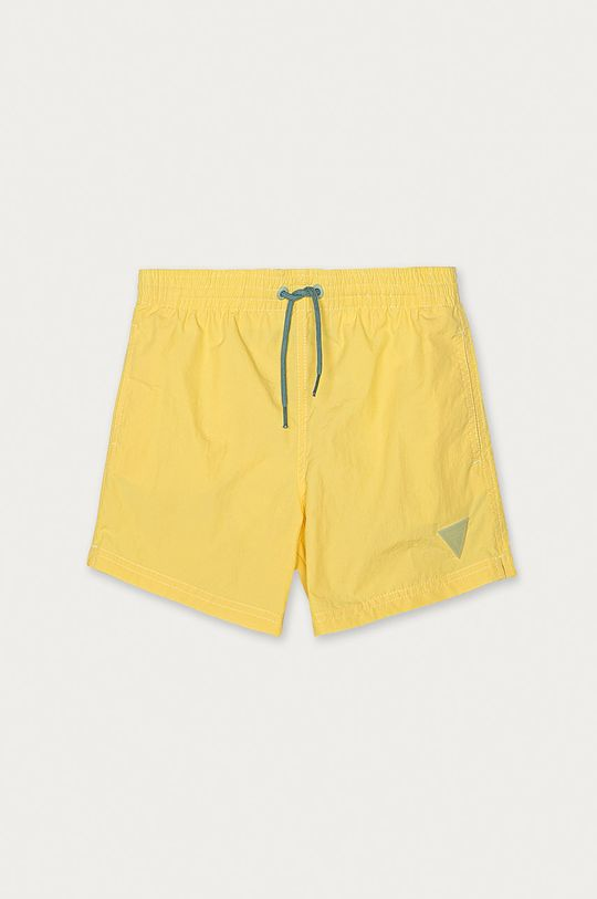 žltá Guess - Detské plavkové šortky 104-175 cm Chlapčenský