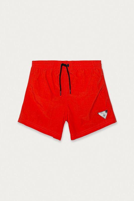 oranžová Guess - Dětské plavkové šortky 104-175 cm Chlapecký