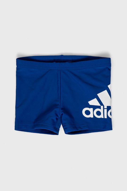 modrá adidas Performance - Detské plavky 92-176 cm Chlapčenský
