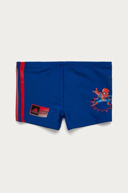 modrá adidas Performance - Detské plavky 92-140 cm Chlapčenský
