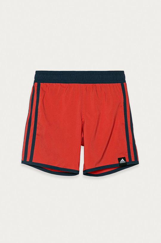 sýtočervená adidas Performance - Detské plavkové šortky 116-176 cm Chlapčenský
