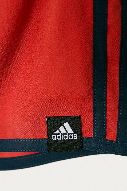 adidas Performance - Detské plavkové šortky 116-176 cm sýtočervená