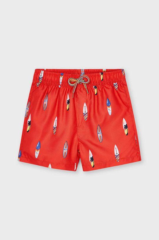 mandarinková Mayoral - Dětské plavkové šortky Chlapecký