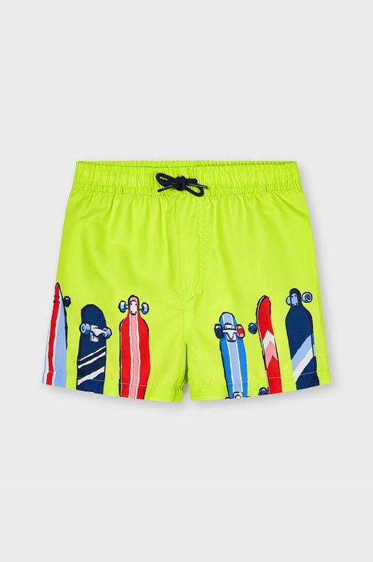 žltá Mayoral - Detské plavkové šortky Chlapčenský