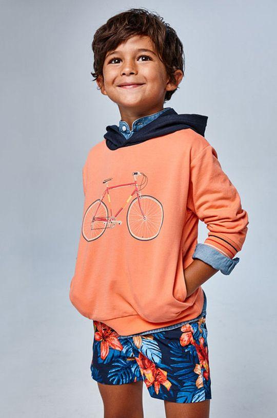 tmavomodrá Mayoral - Detské plavkové šortky Chlapčenský
