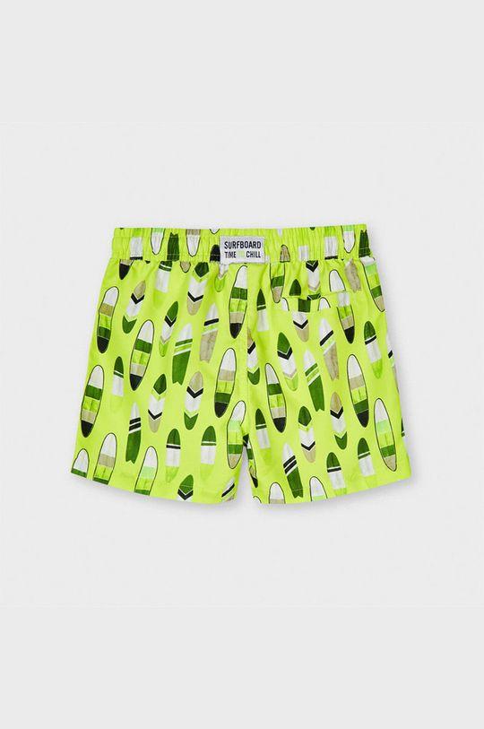 Mayoral - Detské plavkové šortky žlto-zelená