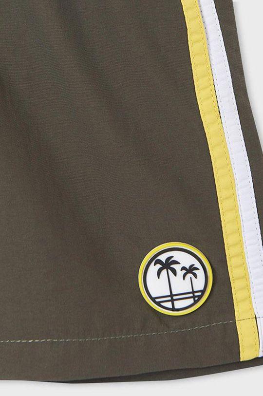 hnedozelená Mayoral - Detské plavkové šortky