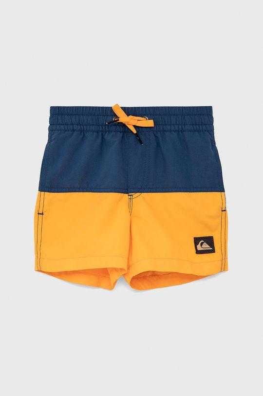 námořnická modř Quiksilver - Dětské plavkové šortky Chlapecký