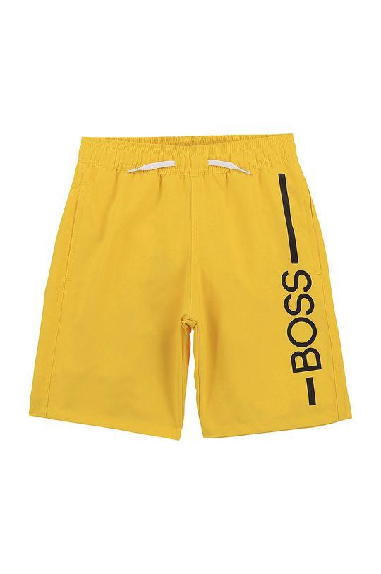 žlutá Boss - Dětské plavkové šortky Chlapecký