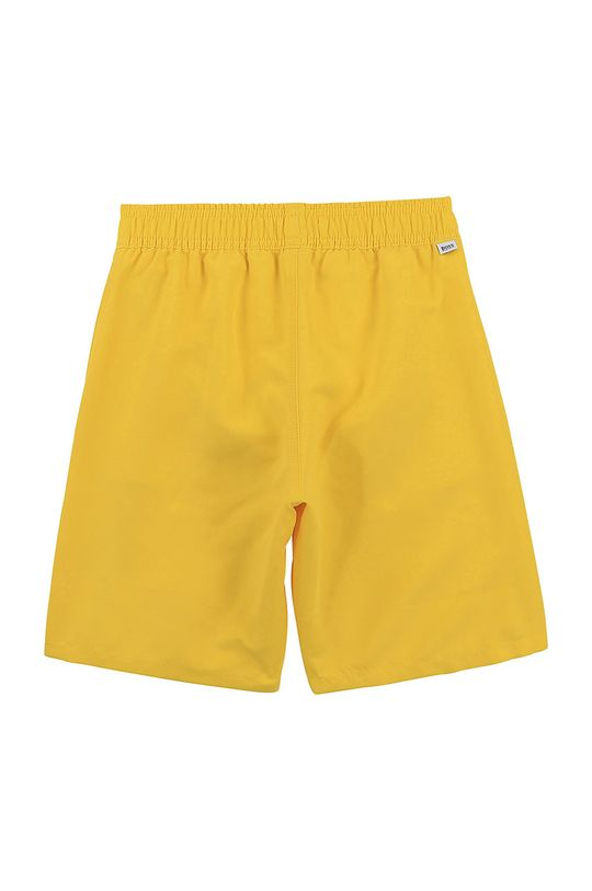 Boss - Dětské plavkové šortky žlutá
