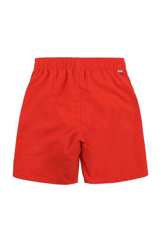 Boss - Dětské plavkové šortky ostrá červená