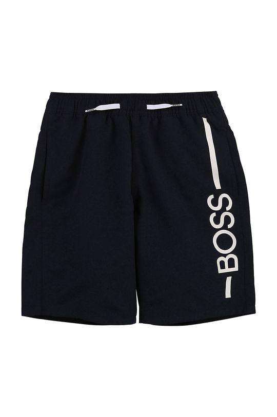 námořnická modř Boss - Dětské plavkové šortky Chlapecký