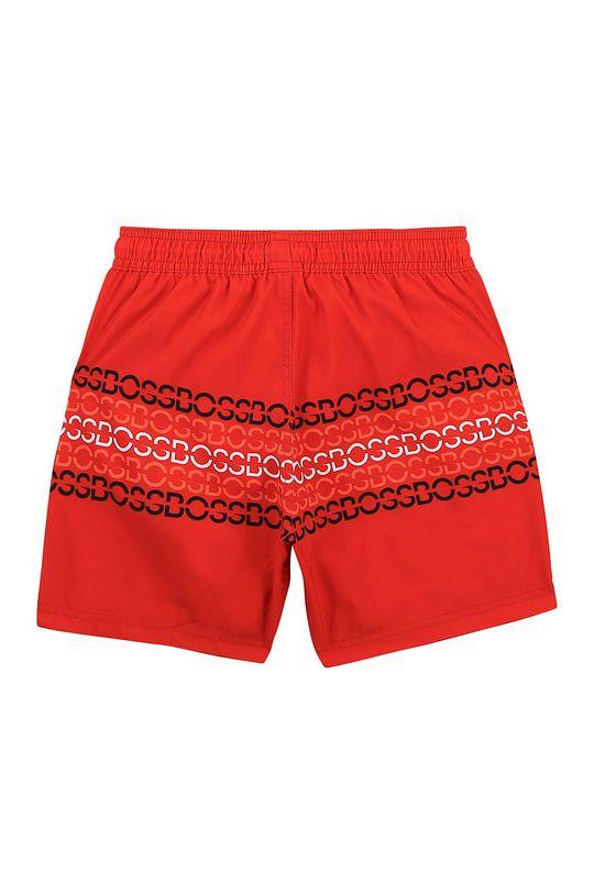 Boss - Detské plavkové šortky červená