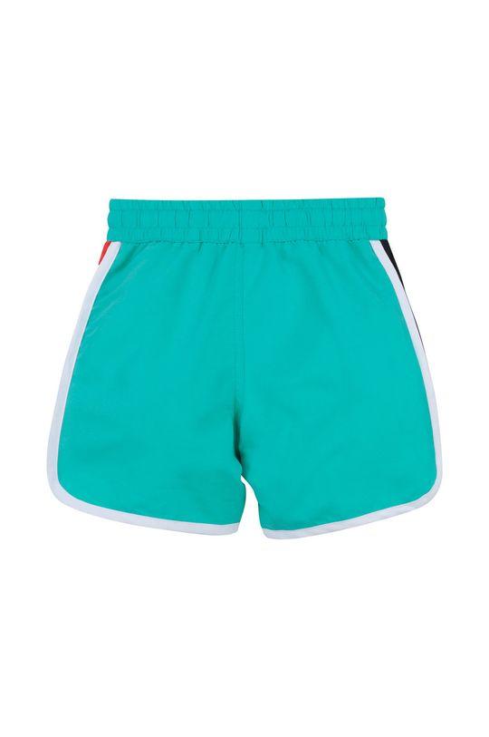 Dkny - Dětské plavkové šortky tyrkysová