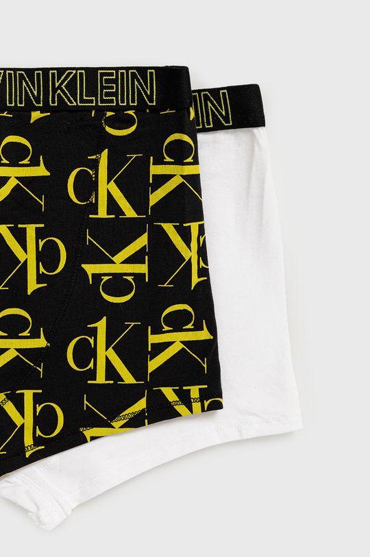 Calvin Klein Underwear - Detské boxerky CK One (2-pak) biela