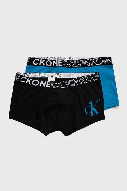 modrá Calvin Klein Underwear - Detské boxerky CK One (2-pak) Chlapčenský