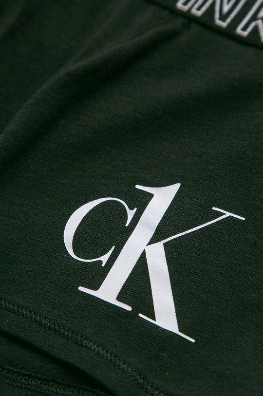 Calvin Klein Underwear - Boxeri copii CK One (2-pack)  Materialul de baza: 95% Bumbac, 5% Elastan Alte materiale: 6% Elastan, 67% Poliamida, 27% Poliester