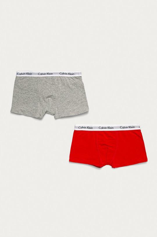 šedá Calvin Klein Underwear - Dětské boxerky (2-pack) Chlapecký
