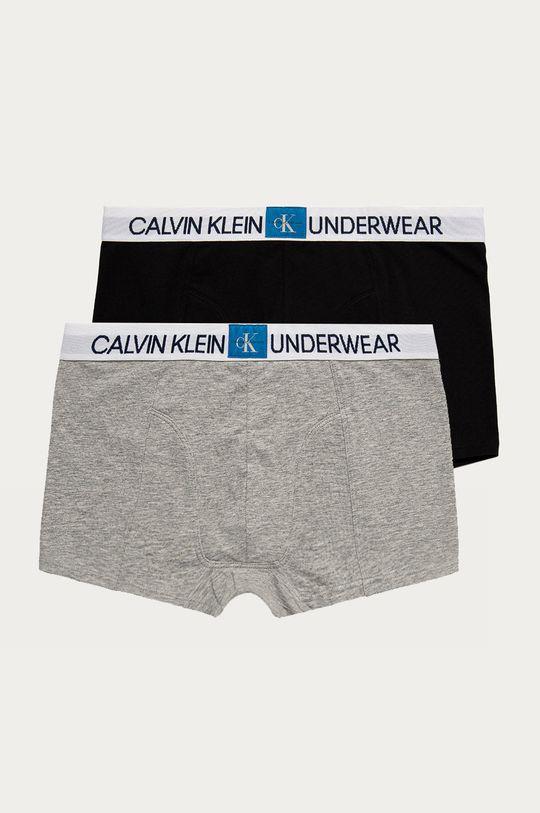vícebarevná Calvin Klein Underwear - Dětské boxerky (2-pack) Chlapecký