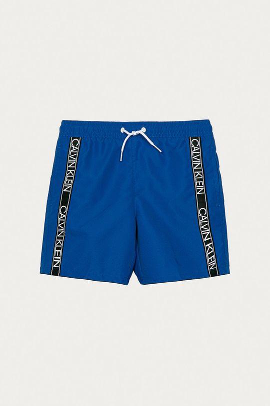 modrá Calvin Klein - Dětské plavkové šortky 128-176 cm Chlapecký